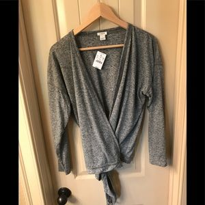 NWT J Crew Factory wrap sweater